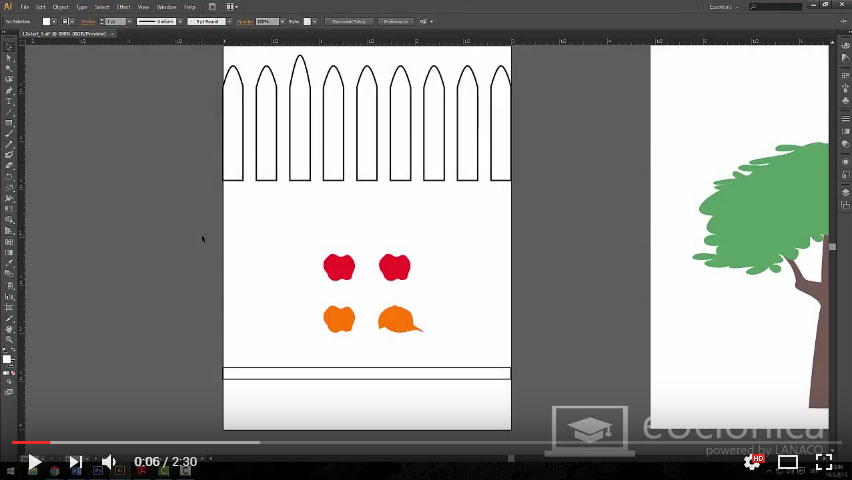 Adobe Illustrator CS6 – Selekcije i uravnanja